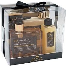 Parfüm, Parfüméria, kozmetikum Szett - Beeing True (sh/gel 250ml +sh/balm 250ml + bath/f 100ml + peel/100ml)