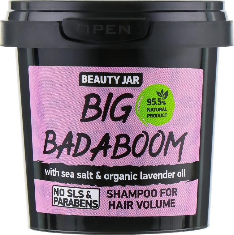 """Dús hatást biztosító sampon """"Big Badaboom"""" - Beauty Jar Shampoo For Hair Volume"""