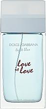Parfüm, Parfüméria, kozmetikum Dolce & Gabbana Light Blue Love is Love Pour Femme - Woda toaletowa