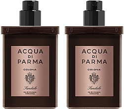 Parfüm, Parfüméria, kozmetikum Acqua Di Parma Colonia Sandalo Concentree - Szett (edc/refill/2x30ml)