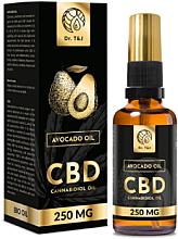 Parfüm, Parfüméria, kozmetikum Természetes avokádó olaj Bio CBD 250mg - Dr. T&J Bio Oil