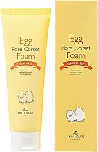 Parfüm, Parfüméria, kozmetikum Arctisztító hab tojás kivonattal - The Skin House Egg Pore Corset Foam Cleaner