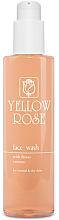 Parfüm, Parfüméria, kozmetikum Tisztító gél normál és száraz bőrre, virágos kivonatokkal - Yellow Rose Face Wash With Flower Extracts