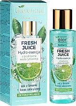 """Parfüm, Parfüméria, kozmetikum Hidratáló esszencia """"Lime"""" - Bielenda Fresh Juice Detoxifying Face Hydro Essence Lime"""