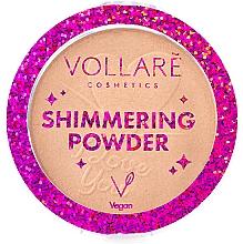 Parfüm, Parfüméria, kozmetikum Csillogó arcpúder - Vollare Shimmering Powder