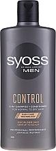 Parfüm, Parfüméria, kozmetikum Sampon-kondicionáló normál és száraz hajra - Syoss Men Control 2-in-1 Shampoo-Conditioner