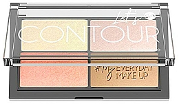 Parfüm, Parfüméria, kozmetikum Kontúrozó paletta - Bell Let's Contour Face Palette