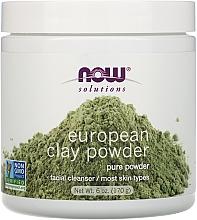 Parfüm, Parfüméria, kozmetikum Arcagyag - Now Foods Solutions European Clay
