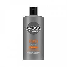 Parfüm, Parfüméria, kozmetikum Sampon férfiaknak, normál hajra - Syoss Men Power Shampoo