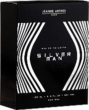 Parfüm, Parfüméria, kozmetikum Jeanne Arthes Silver Man - Eau de Toilette