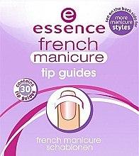 Parfüm, Parfüméria, kozmetikum Sablon francia manikűrhöz - Essence French Manicure Tip Gu