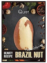 Parfüm, Parfüméria, kozmetikum Tápláló maszk - Quret Beauty Recipe Mask Brazil Nut Nourishing