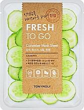 Parfüm, Parfüméria, kozmetikum Frissítő szövetmaszk uborkával - Tony Moly Fresh To Go Mask Sheet Cucumber
