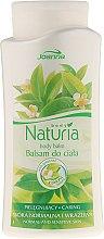 Parfüm, Parfüméria, kozmetikum Testápoló balzsam zöld tea - Joanna Naturia Body Balm