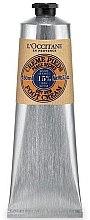 Parfüm, Parfüméria, kozmetikum Sheavaj tartalmú lábkrém - L'Occitane Shea Butter Foot Cream