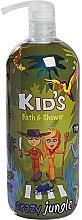 Parfüm, Parfüméria, kozmetikum Tusoló- és fürdőhab - Hegron Kid's Crazy Jungle Bath & Shower