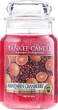 """Parfüm, Parfüméria, kozmetikum Illatgyertya """"Mandarin és vörösáfonya"""" - Yankee Candle Mandarin Cranberry"""