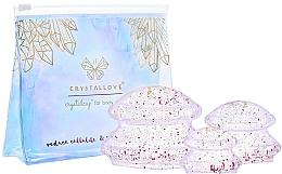 Parfüm, Parfüméria, kozmetikum Szilikon kupacterápiás készlet testre - Crystallove Crystal Body Cupping Set