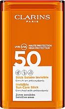 Parfüm, Parfüméria, kozmetikum Napvédő stift az arc érzékeny területeire - Clarins Stick Solaire Invisible SPF50