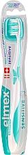Parfüm, Parfüméria, kozmetikum Fogkefe, lágy, türkiz - Elmex Sensitive Toothbrush Extra Soft