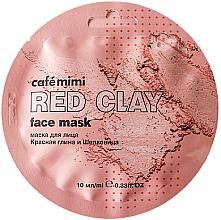 """Parfüm, Parfüméria, kozmetikum Arcmaszk """"Vörös agyag és eperfa"""" - Cafe Mimi Face Mask"""