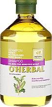 Parfüm, Parfüméria, kozmetikum Sampon édesgyökérrel érzékeny bőr számára - O'Herbal