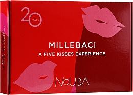 Parfüm, Parfüméria, kozmetikum Szett №1 - NoUBA Millebaci Box Set 5 Kisses Experience (lipstick/5x6ml)