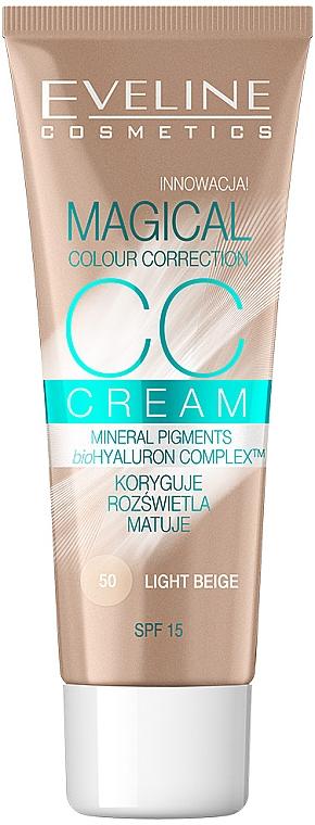Alapozó krém - Eveline Cosmetics Magical CC Cream SPF15