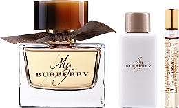 Parfüm, Parfüméria, kozmetikum Burberry My Burberry - Szett (edp/90ml + b/lot/75ml + edp/7,5ml)