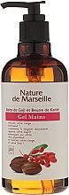 Parfüm, Parfüméria, kozmetikum Mosakodó gél szappan kézre godji bogyókkal és shea vajjal - Nature de Marseille Goji&Shea Butter Gel