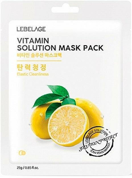 Szövetmaszk arcra - Lebelage Vitamin Solution Mask