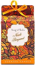 """Parfüm, Parfüméria, kozmetikum Illatosított gyertya üvegben """"Nerolli és bergamott"""" - Song of India Scented Candlee"""