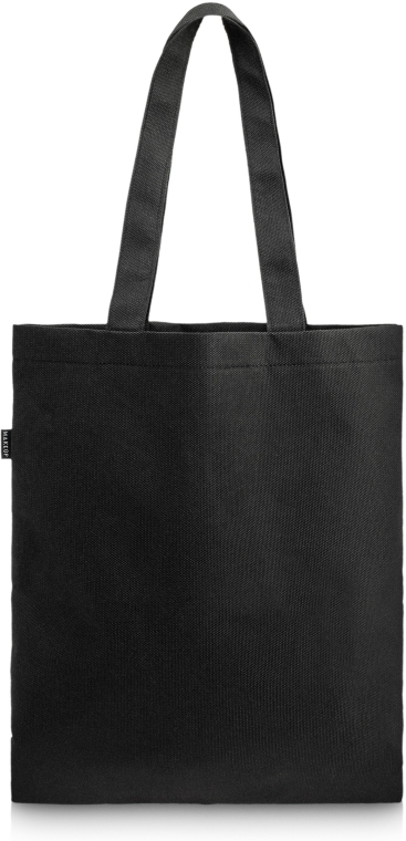 """Bevásárlótáska, fekete """"Perfect Style"""" - MakeUp Eco Friendly Tote Bag Black"""