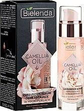 Parfüm, Parfüméria, kozmetikum Ránctalanító arcszérum - Bielenda Camellia Oil Luxurious Rejuvenating Serum