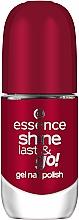 Parfüm, Parfüméria, kozmetikum Körömlakk, géllakk hatás - Essence Shine Last & Go! Gel Nail Polish