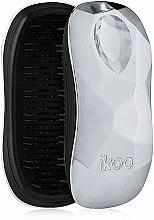Parfüm, Parfüméria, kozmetikum Fésű - Ikoo Home Black Prima Ballerina Silver