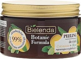 """Parfüm, Parfüméria, kozmetikum Testradír """"Citrom és menta"""" - Bielenda Botanic Formula Lemon Tree Extract + Mint Body Scrub"""