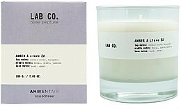 Parfüm, Parfüméria, kozmetikum Illatosított gyertya - Ambientair Lab Co. Amber & Clove