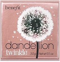 Parfüm, Parfüméria, kozmetikum Csillámló arcpúder és highlighter - Benefit Dandelion Twinkle