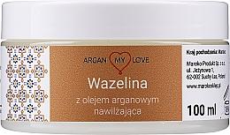 Parfüm, Parfüméria, kozmetikum Vazelin argánolajjal arcra és testre - Argan My Love