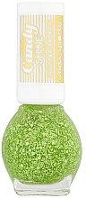 Parfüm, Parfüméria, kozmetikum Fedő körömlakk - Miss Sporty Candy Shine Glitter Effect