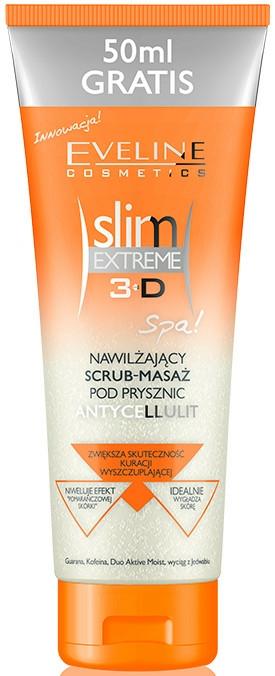 Hidratáló testradír - Eveline Cosmetics Slim Extreme 3D