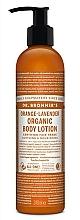 """Parfüm, Parfüméria, kozmetikum Kéz- és testápoló lotion """"Narancssárga levendula"""" - Dr. Bronner's Orange Lavender Organic Hand & Body Lotion"""