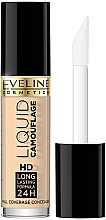 Parfüm, Parfüméria, kozmetikum Korrektor - Eveline Cosmetics Liquid Camouflage HD Long Lasting Formula 24h