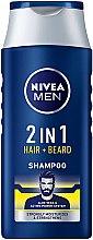 Parfüm, Parfüméria, kozmetikum Sampon hajra és szakállra 2 az 1-ben - NIVEA Men 2 in 1 Protect & Care Shampoo