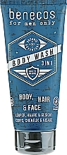Parfüm, Parfüméria, kozmetikum Tusfürdő - Benecos For Men Only Body Wash 3in1