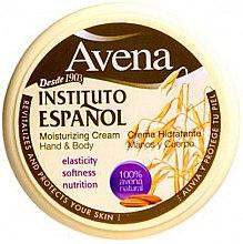 Parfüm, Parfüméria, kozmetikum Hidratáló krém kézre és testre - Instituto Espanol Avena Moisturizing Cream Hand And Body