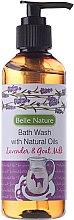 Parfüm, Parfüméria, kozmetikum Tusfürdő levendula kecske tej illattal - Belle Nature Bath Wash Lavender&Goat Milk