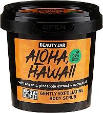 Parfüm, Parfüméria, kozmetikum Bőrradír - Beauty Jar Aloha Hawaii Gently Exfoliating Body Scrub