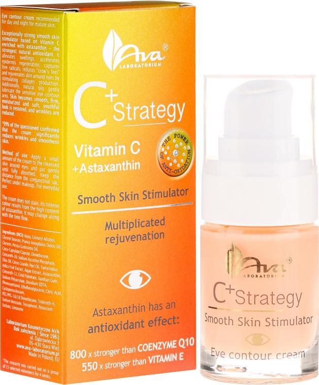 Szemkörnyékápoló krém C vitaminnal - Ava Laboratorium C+ Strategy Smooth Skin Stimulator Eye Contour Cream